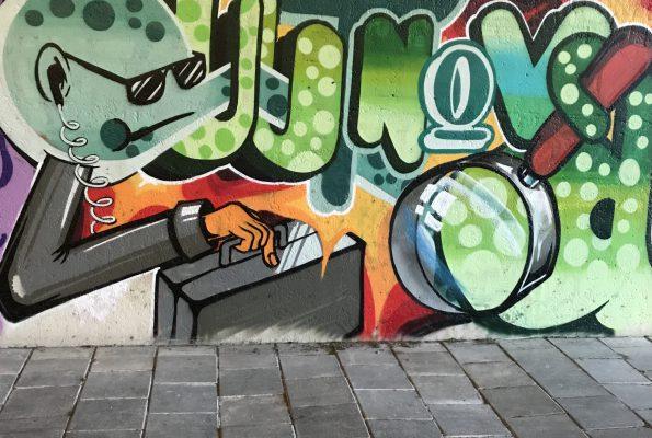 Graffiti nu ook legaal in de buurt